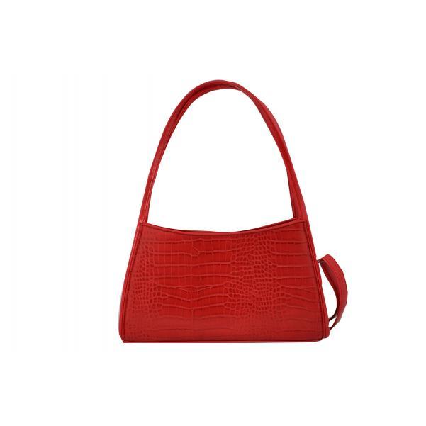 Дамска Чанта от Еко Кожа цвят червен