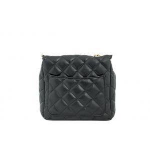 Дамска Чанта от Еко Кожа цвят черен